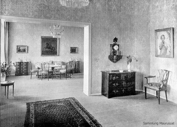 Alfred Grenander Inneneinrichtung Von Der Heydt Wohnzimmer